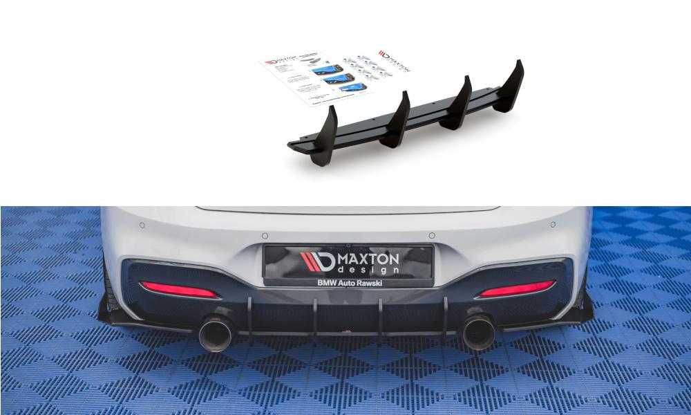 DYFUZOR TYLNY RACING DURABILITY V.3 BMW M140I - GRUBYGARAGE - Sklep Tuningowy